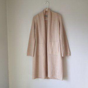 Vince Shawl Collar Wool Blend Cardigan Size M